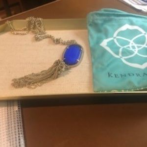 Kendra Scott Rayne Necklace In Cobalt